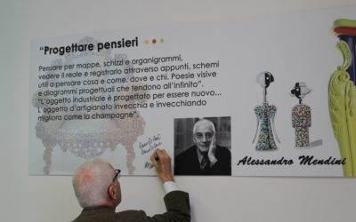 L'Architetto Alessandro Mendini inaugura il nuovo Anno Accademico dell'Istituto di Design Polo Michelangelo