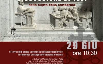 Discussione di Tesi in Cattedrale