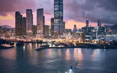 Avvistato un topo galleggiante ad Hong Kong