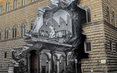 Palazzo Strozzi si firma JR